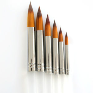 Round Tip Brush Set